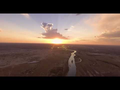 Drone aerial video of Namibia, DJI P4
