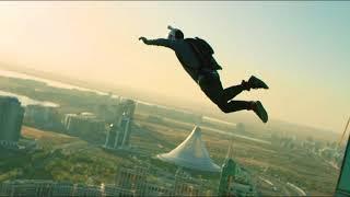Первый BASE jumping в Казахстане. Прыжок с небоскреба в Астане