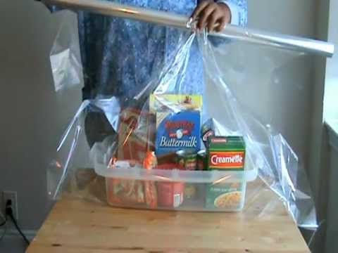 How to wrap a gift basket youtube how to wrap a gift basket negle Images