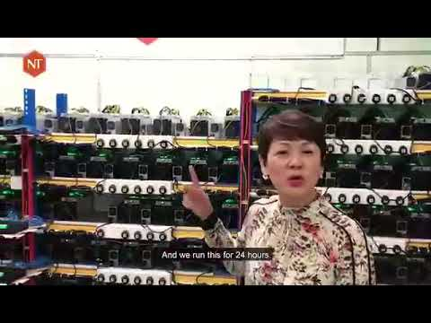 Bitcoin Mining Farm in Malaysia