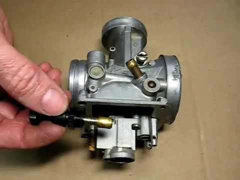Reassembling Keihin PWK Carburetor