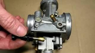 Reassembling Keihin PWK Carburetor