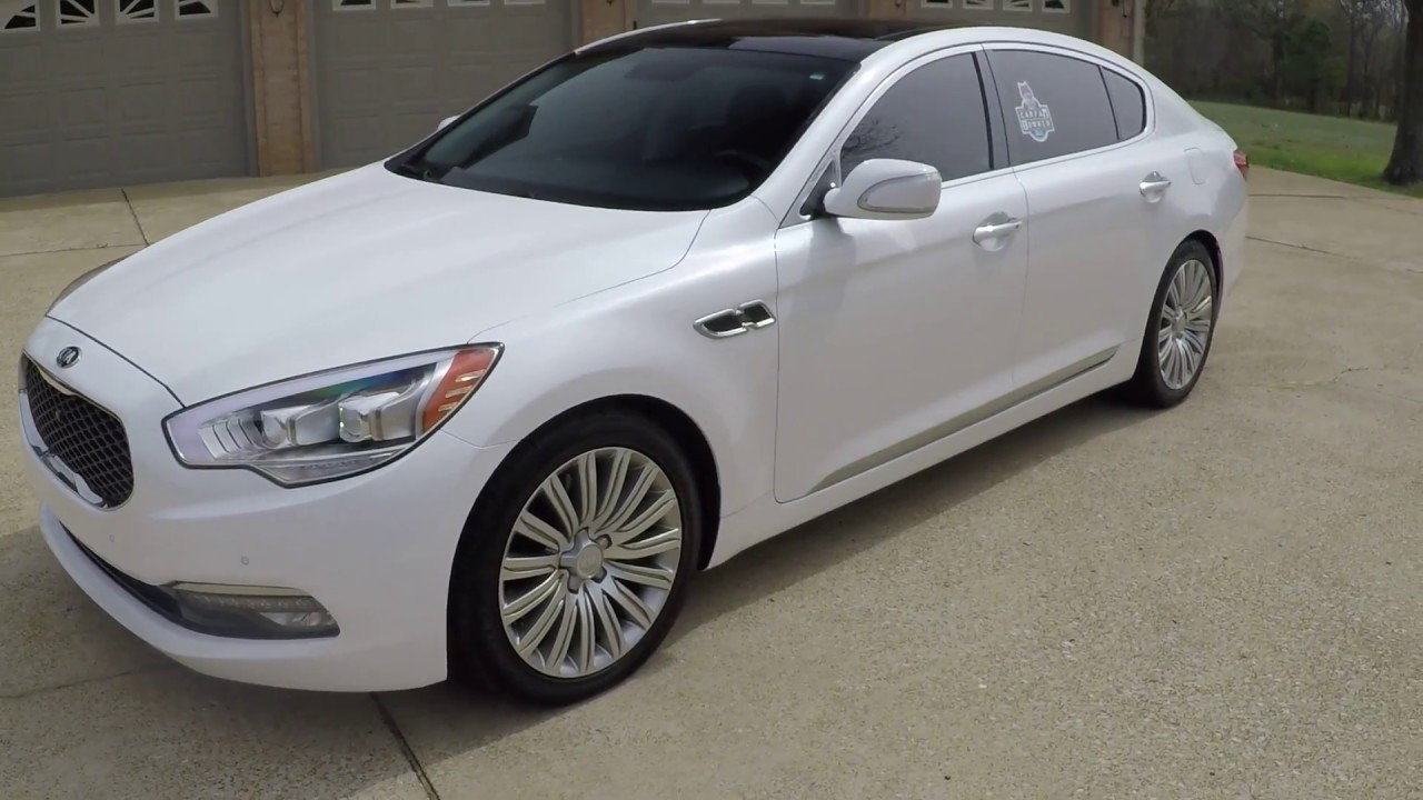 West TN 2015 Kia K900 V8 Pearl White used for sale info www ...