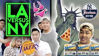 DIFFERENCES BETWEEN LA & NEW YORK | Fung Bros