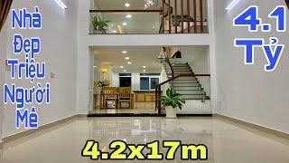 Bán nhà quận 12 TPHCM|Mẫu nhà phố đẹp TRIỆU LIKE làm xao xuyến mọi trái tim người Việt|giá rẻ 4.1 tỷ