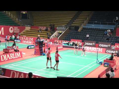 2011 Indonesia Open (SSP) - WD Qualifier R1 - Bruce/Li [CAN] vs Saufika/Widjaja [INA] - G2