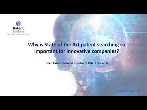 State of the Art (SOA) Patent Search Overview