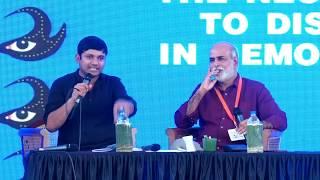 The Necessity to Dissent in Democracy | Sashi Kumar & Kanhaiya Kumar | KLF 2018