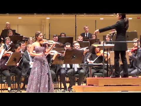 Maya Anjali Buchanan – Korngold Violin Concerto in D major (first movement)