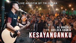 Download KESAYANGANKU - AL GHAZALI  (LIRIK) LIVE AKUSTIK BY TRI SUAKA