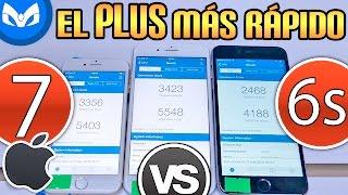 iPhone 7 Vs iPhone 7 Plus Vs iPhone 6s Plus VELOCIDAD