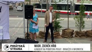 Zdeněk Hřib - ochladíme Prahu