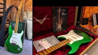 2017 Haggard 1968 Landau & 1957 Candy Green Fender Strat @ EddieVegas.com