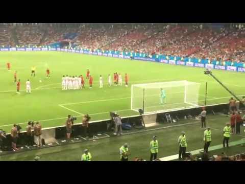 Portugal Spain Cristiano Ronaldo final goal 3:3 (live tribune) (World Cup 2018)