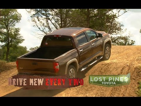 toyota trucks drive new every two tundra for 299 a month in bastrop texas youtube. Black Bedroom Furniture Sets. Home Design Ideas