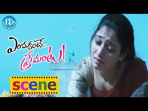 Endukante Premanta Movie Scenes || Tamanna Cries for Ram's Love