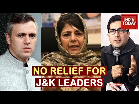 Omar Abdullah, Mehbooba Mufti, Shah Faesal Likely To Remain In Detention, Govt Mulls Use of PSA