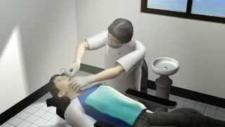 Зубной врач лечил пациентку, хватая её за грудь