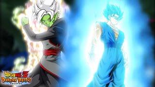 DUAL FUSION SUMMON! Merged Zamasu & Super Saiyan Blue Vegito Banner | Dragon Ball Z Dokkan Battle