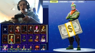 Kid Spends £10,000 On Fortnite Skins... [MUST WATCH!]