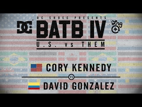 Cory Kennedy Vs David Gonzalez: BATB4 - Round 1