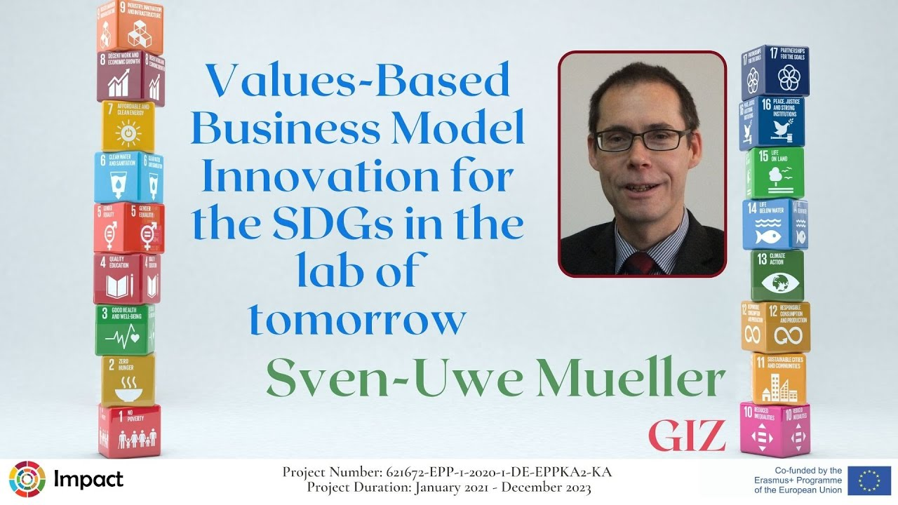 Values-Based Business Model Innovation for the SDGs in the lab of tomorrow