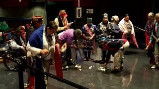 SAN FELIPE POW WOW 2019 - Gourd Dance Honoring Round 1MOV 0585