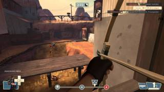 TF2 - Huntsman Sniper Tips/Tricks: Gameplay Commentary