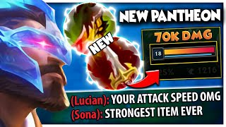 These CHANGES are NOT BALANCED...NEW ITEM turned Pantheon into a 1v5 GOD 😧
