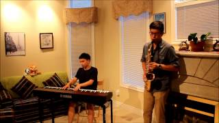 Jessie J - Flashlight ft. Alex L. (Saxophone and Piano Cover)