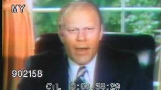 GERALD FORD PARDONS RICHARD NIXON