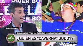 """¿Quién es """"Caverna"""" Godoy, el barra de River allanado por ..."""