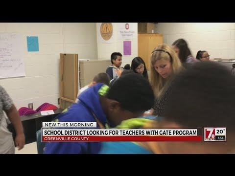 GATE program for teachers