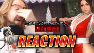 MAX REACTS: Mai Announcement - Dead or Alive 5 LR