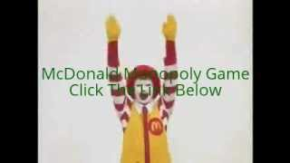 McDonald Monopoly Game | McDonald Monopoly Pieces