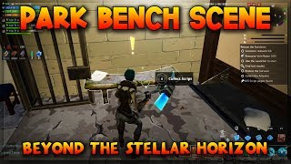 PARK BENCH SCENE - Collect Script Pages - Fortnite Save the World