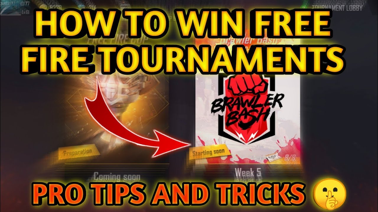 HOW TO WIN FREE FIRE TOURNAMENTS|| PRO TIPS AND TRICKS FREE FIRE| HOW TO WIN BRAWLER BASH TOURNAMENT