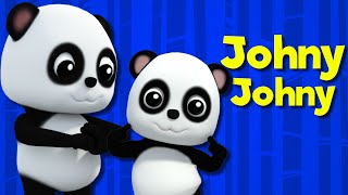 bao panda   johny johny yes papa   baby songs for childrens   nursery rhymes for kids