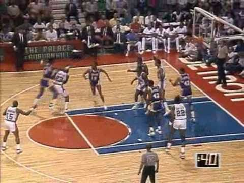 1989 NBA Finals: Lakers at Pistons, Gm 1 part 3/12