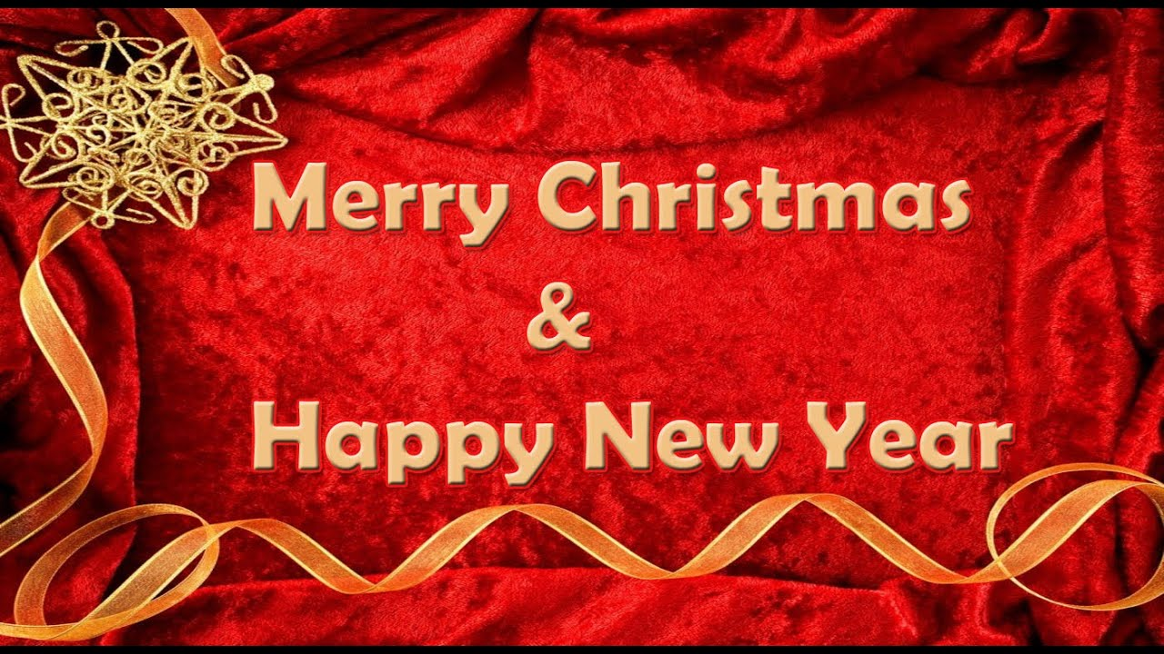 Merry Christmas & Happy New Year 2016 Latest Best Wishes ...