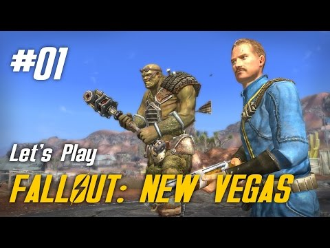 Let's Play Fallout: New Vegas - 01 - Start With a Bang