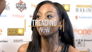 Bresha Webb Gets Curved By Drake At Netflix Party - Trending Now