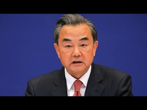 Chinese foreign minister meets US secretary of state