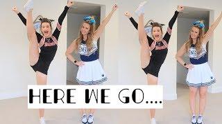 non cheerleaders TRY cheerleading !! | Alyssa Mikesell