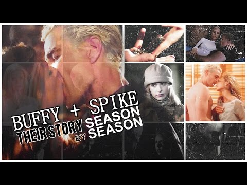 The ENTIRE Story of BUFFY and SPIKE!