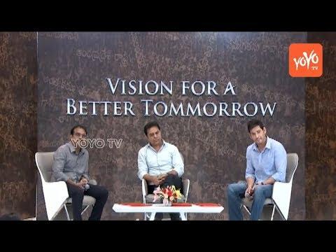 Mahesh Babu and KTR Interview | Vision for Better Tomorrow | Bharat Ane Nenu Movie | YOYO TV Channel