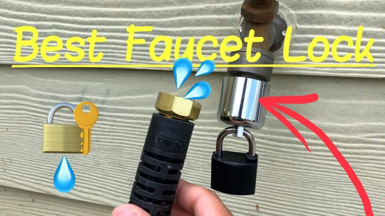 Best Faucet Water Lock Hose Bibb With Padlock For Outdoor Faucets Hd Review