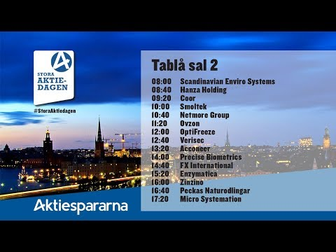 Scandinavian Enviro Systems AB | Diskussion och forum | Shareville