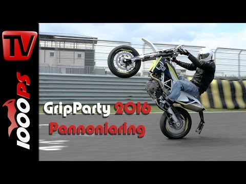 1000PS Gripparty Pannoniaring April 2016 - Eventvideo | Impressionen, Action, Teilnehmer