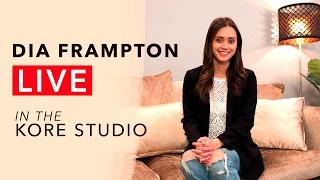 Dia Frampton Performs Live in the Kore Studio